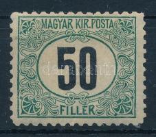 1903 Portó 50f 11 1/2 fogazással (200.000) (apró gumiráncok / light creases)