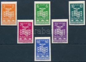 1937 Vásár vágott sor (80.000)