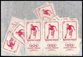 1964 Verso Tokyo 50 db szelvényes bélyeg