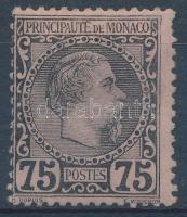 Monaco 1885 Mi 8 (Mi EUR 280.-) (1 fog hiány/1 perf. missing)