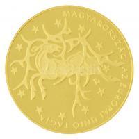 2004. 50.000Ft Au Magyarország az Európai Unió tagja tanúsítvánnyal (14,09g/0.986) T:PP / Hungary 2004. 50.000 Forint Au Hungary becomes a member of the European Union with certificate (14,09g/0.986) C:PP  Adamo EM191