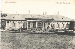 Bocsár, Bocar; Báró Baich kastély / castle (EK)