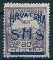 1918 Turul 80f Bodor vizsgálójellel