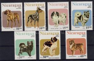 1987 Kutyák Mi 2790-2796