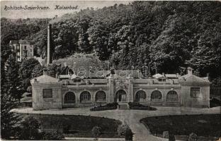 1919 Rogaska Slatina, Rohitsch-Sauerbrunn; Kaiserbad / spa, baths. Kunstverlag S. Frank