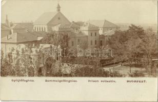 Budapest X. Kőbánya, Gyűjtőfogház, börtön / Sammelgefängniss / prison collectiv. photo (EK)