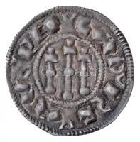 1077-1095. Denar Ag I. László (0,80g) T:1-,2 Hungary 1077-1095. Denar Ag Ladislaus I (0,80g) C:AU,XF Huszár: 27., Unger I.: 22.
