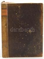 [Kováts-Martiny Gábor (1782-1845)] Gabriel Kováts-Martiny: Compendium physices quod in usus auditorum suorum classis philosophicae. Conscripsit: - -. Posonii (Pozsony), 1823, Typis Heredum Belnayanorum, 250 p.+ 2 t. Latin nyelven. Első kiadás. Kiadói kopott kartonált papírkötés, a gerincen kis sérüléssel, foltos lapokkal, két lap (a címlap, és az utolsó lap) laza, a két tábla az illesztésnél meglazult, kissé dohos. Ritka!