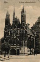 Vilnius, Wilno, Wilna; St. Annen- u. Bernhardinerkirche / churches (EB)