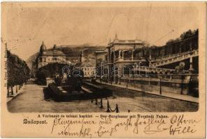 1904 Budapest I. Várbazár és tabáni kerület. Ganz Antal 50.