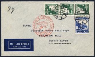 1935 Légi levél Argentínába / Airmail cover to Argentina