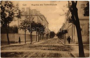 Győr, Megyeház utca, Tanítóképezde. Wolf Gyula kiadása