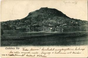 1908 Gyulakeszi, Csobánc vára. Löwy B.