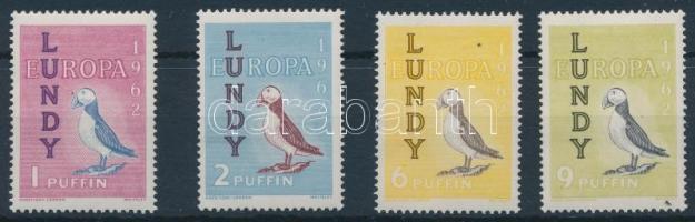 Lundy 1962 Európa, madarak 4 érték