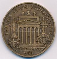 Bognár György (1944-) 1987. 150 éves az Egri Főszékesegyház 1837-1987 / J.L. PYRKER AEPPUS AGRIENSIS AEDIFICATOR ECCL METROP kétoldalas Br emlékérem (42,5mm) T:1- ph.
