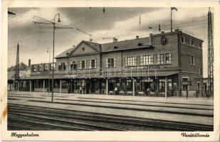 Hegyeshalom, vasútállomás. Réka János felvétele (EK)