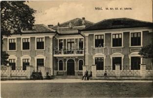 1931 Mád, M. kir. állami elemi iskola + MÁD P.U.