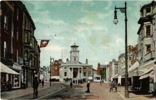 1904 Worthing, South Street, shops Imperial restaurant (EK)