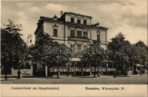Dresden, Central Hotel am Hauptbahnhof. Wienerplatz 10. / hotel at the railway station