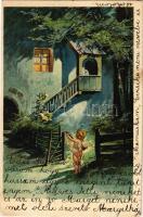 1904 Cupid. litho s: E. Döcker jun.