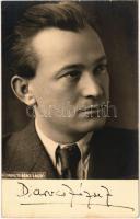 Darvas József. Fényképezte Bérczi László / Hungarian writer, politician