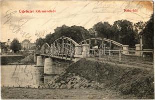 1907 Körmend, Rába híd (Rb)