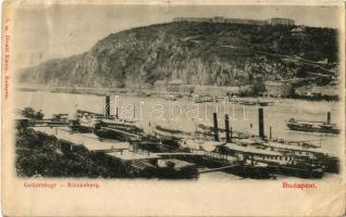 1899 Budapest XI. Gellért-hegy (Gellérthegy), Citadella / Blocksberg. Divald Károly 5. (Rb)