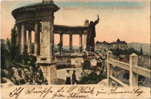 1905 Budapest I. Szent Gellért szobor. Taussig Arthur 5320.