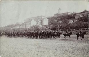 Budapest I. Vérmező, lovas csendőrök parádéja. photo (fa)