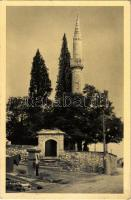 1939 Mostar, Sariceva Dzamija / mosque, bicycle