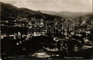 Sarajevo, general view. Leon Finzl
