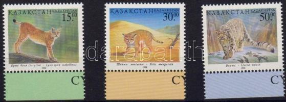 1998 Ragadozó macskák Mi 229-231