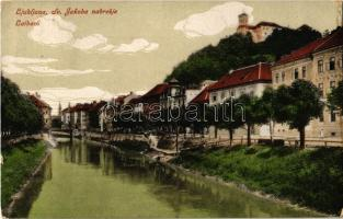 Ljubljana, Laibach; Sv. Jakoba nabrezje