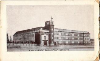 1935 Nyergesújfalu, A Szalézi Intézet vázlatterve (kis szakadás / small tear)