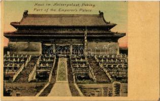 Beijing, Peking; Part of the Emperors Palace (fl)