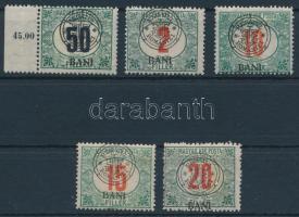1919 5 klf Portó bélyeg Bodor vizsgálójellel (7.350)