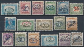 Debrecen I. 1919 17 klf bélyeg Bodor vizsgálójellel (15.650)
