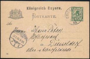 Német Államok Bayern 1895