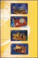 1993 Katonaság, Távíró motívum 8 db használatlan német telefonkártya 2 db gyűjtői mappában