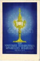 1938 Budapest XXXIV. Nemzetközi Eucharisztikus Kongresszus. Készüljünk a Magyar Kettős Szentévre! / 34th International Eucharistic Congress (EK)