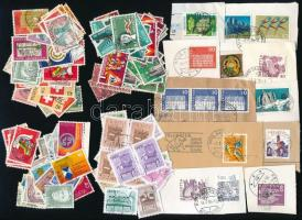 Svájc kis vegyes tétel: bélyegek borítékokban + levelek