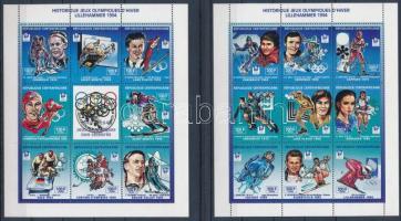 1994 Téli olimpia aranyérmesei Mi 1604-1620 kisívpár