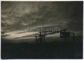 cca 1929 Kinszki Imre (1901-1945) budapesti fotóművész hagyatékából, pecséttel jelzett, vintage fotó, 12x16,9 cm