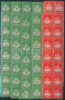 1946 14 db Adópengős sor összefüggésekben (3.500)