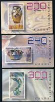 1998 Szecesszió bélyegfüzetsor (3db) + 2000 Nemzeti parkjaink bélyegfüzetsor (12.000)