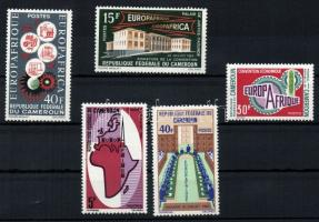 1964/1970 EUROPAFRIQUE 2 Sätze + Marke, 1964/1970 EUROPAFRIQUE 2 sor + bélyeg, 1964/1970 EUROPAFRIQUE 2 sets + stamp