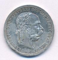 Ausztria 1899. 1K Ag Ferenc József T:1- kis ph. Austria 1899. 1 Corona Ag Franz Joseph C:AU small edge error Krause#2804