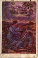 1916 Der letzte Wunsch / Az utolsó óhaj / WWI Austro-Hungarian K.u.K. military, injured soldier (vágott / cut)
