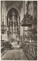 Gdansk, Danzig; Marienkirche, Orgel, Kanzel / church, organ, pulpit, interior
