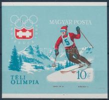1964 Téli Olimpia (II.) - Innsbruck vágott blokk